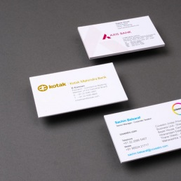 print business card